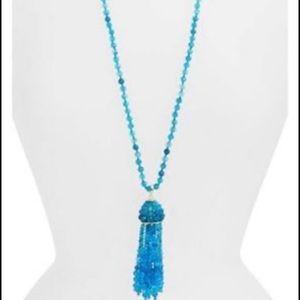 Kendra Scott Sylvia Necklace Turquoise + Gold